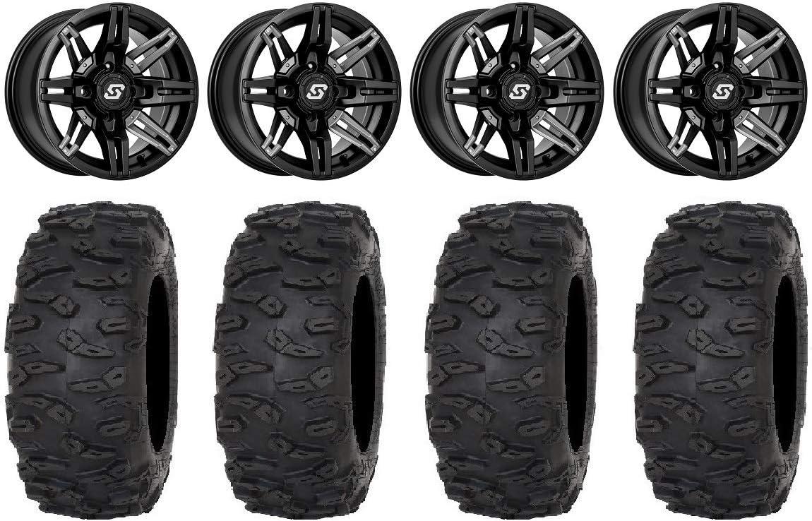 Bundle - 9 Items: Sedona Max 55% OFF Rukus +30mm Roctan Black Wheels Max 83% OFF 14