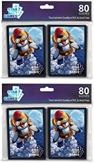 Star City Games Creature Collection Sleeve Twinpack: Penguin