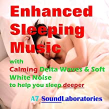 Enhanced Sleep Music with Calming Delta Waves & Soft Pink Noise to Help You Sleep Deeper