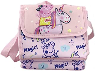 Mochila Peppa Pig Bolsa Portamerienda Termico Peppa Pig Its Magic 21x20x14cm