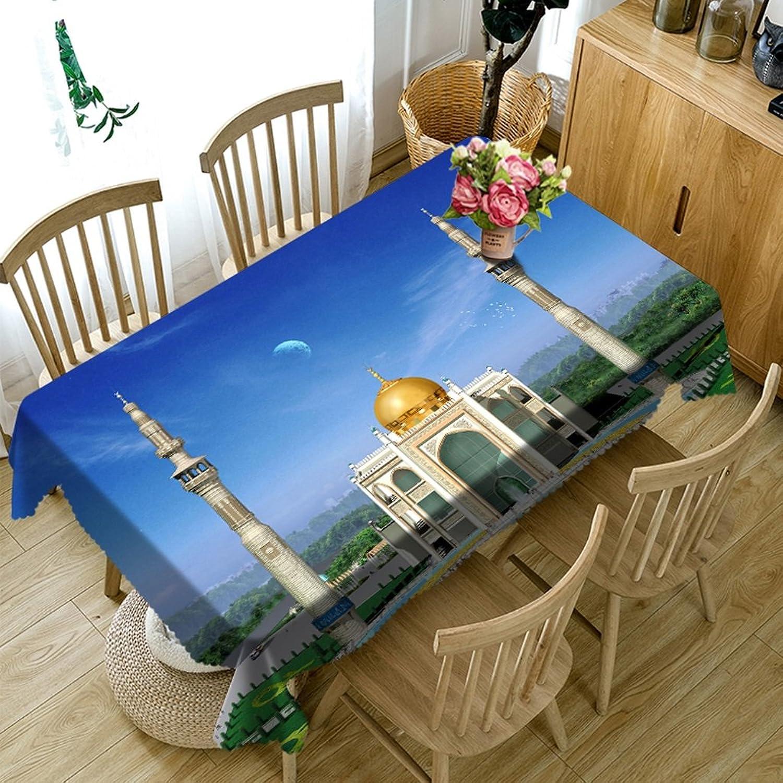 Unbekannt %Tablecloth Rechteckige Tischdecken - 3D Landschaft Serie Tischdecke MT11 - Umweltfreundlich und geschmacklos - Digital Bedruckt Wasserdicht (größe   Rectangular -228cmx396cm) B07DB99PCR Optimaler Preis    | Modern Und Elegant In Der