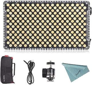 Aputure Amaran AL-F7 On Camera LED Video Light Color Temperature 3200-9500K CRI/TLCI 95+ Led Panel Versatile On-Camera LED Light (Updated version of Aputure Al-H198)