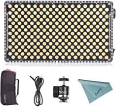 Aputure Amaran AL-F7 On Camera LED Video Light Color Temperature 3200-9500K CRI/TLCI 95+ Led Panel Versatile On-Camera LED Light (Updated version of Aputure Al-H198)