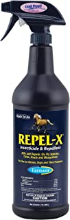 Farnam Fly Repellent Spray and Insecticide | for Horses, Ponies and Dogs | 32 oz