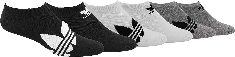 adidas Originals mens Trefoil Superlite No Show Socks (6-pair)