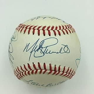 Philadelphia Phillies Legends Multi Signed Baseball Mike Schmidt 15 Sigs PSA DNA