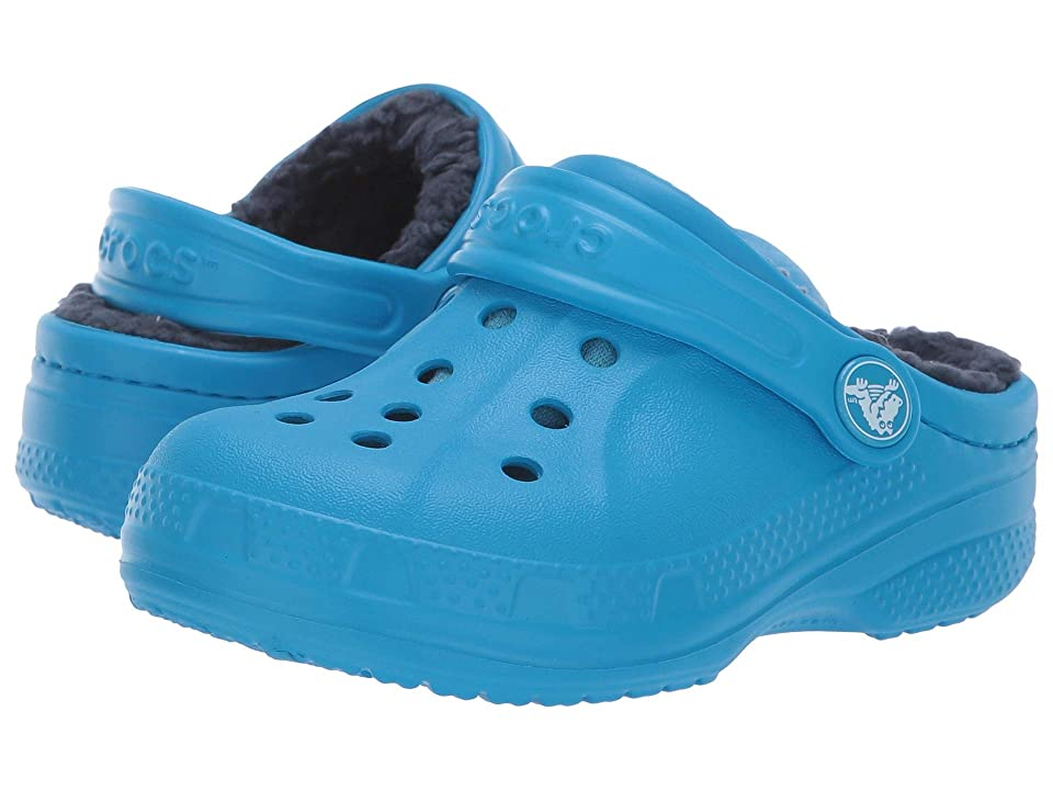 Crocs Kids Crocs Winter Clog (Toddler/Little Kid) (Ocean/Navy) Kids Shoes