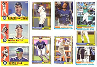 2017 Topps Archives - SEATTLE MARINERS Team Set