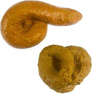 Nakimo Fake Poop Prank Funny Poop Toys Gag Gift Realistic Mischief Novelty Toys for Joke Trick Halloween April Fool 's Day...
