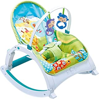 Infant-to-Toddler Rocker, Baby Bouncer Chair and Rocker, Suitable for New-Born to Toddler Battery A