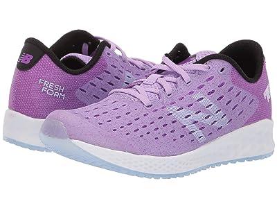 New Balance Kids Fresh Foam Zante Pursuit (Little Kid) (Dark Violet Glo/Black) Girls Shoes