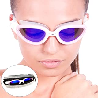 AqtivAqua Polarized Swimming Goggles || Swim Workouts ~ Open Water || Indoor/Outdoor