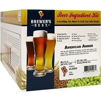 Brewer's Best - Home Brew Beer Ingredient Kit (5 gallon), (American Amber)