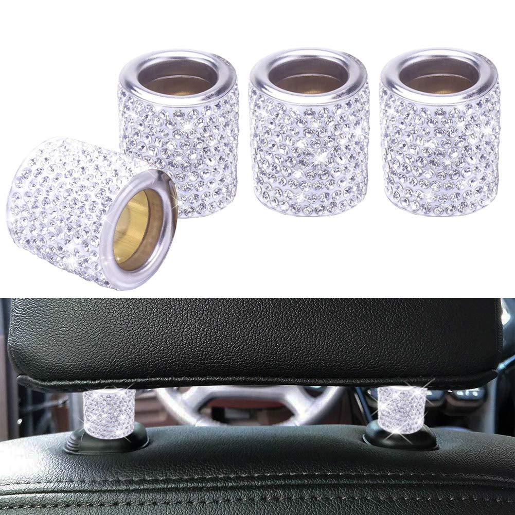 Car Headrest Head Rest Collars Rings Decor