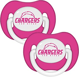 NFL Football 2014 Baby Infant Girls Pink Pacifier 2-Pack - Pick Team