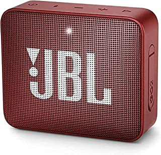 JBL JBLGO2REDAM GO 2 Portable Bluetooth Speaker - Red