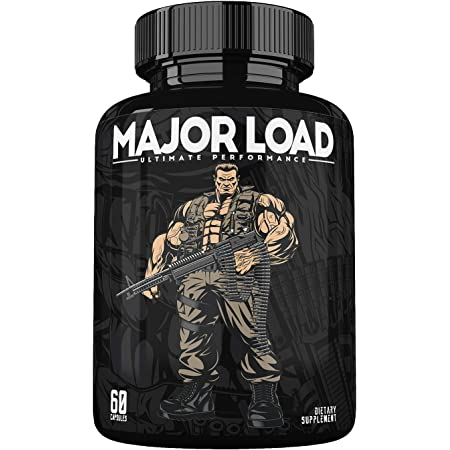 Ultimate Test Booster for Men - Male Enhancing Pills - Enlargement Supplement - Men's High Potency Endurance, Drive, and Strength Booster - Increase Size, Energy, Fat Burner - 60 Caps - Made in USA