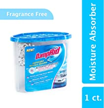 DampRid Disposable Moisture Absorber with Activated Charcoal, 1 lb, 2 oz. Tub; Remove Strong Odors from Tough Sources, Trap Excess Moisture, Eliminate Musty Odors and Create Fresher, Cleaner Air