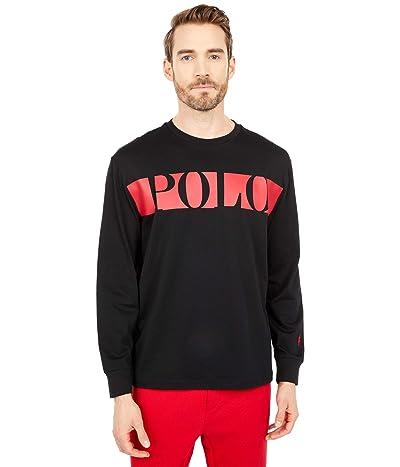 Polo Ralph Lauren Classic Fit Graphic T-Shirt (Polo Black) Men