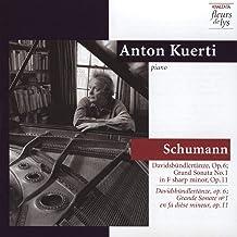 Schumann Davidsbundlertanze Op.6 Grand Sonata No.1 In F Sharp Minor Op.11