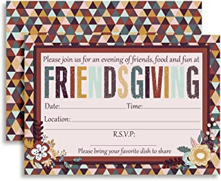 Friendsgiving Party Invitations, Thanksgiving with Friends, 20 5