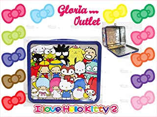 Hello Kitty and Friends Meloday Kuromi Keroppi Little Twin Staars Lunch Box Loungefly Sanrio