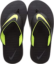 Nike Men's Chroma Thong 5 Black Flip Flops Sandals-10 UK (45 EU) (11 US) (833808-013)
