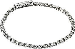 Classic Chain 4 mm. Box Chain Bracelet