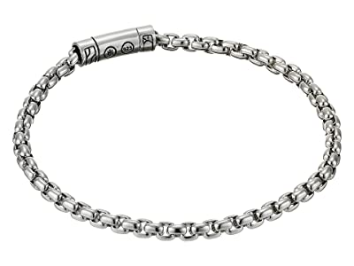 John Hardy Classic Chain 4 mm. Box Chain Bracelet (Silver) Bracelet