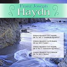 "Franz Joseph Haydn: String Quartet in C Major, Op. 76, No. 3 ""Emperor Quartet""; String Quartet in D Major, Op. 64, No.5 ""L..."