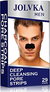 Blackhead Remover Pore Strips For Men, Deep Cleansing Strips, 29 Strips, With Charcoal and Oil Free