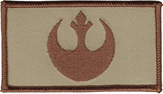 Star Wars Rebel IRON ON Patch Desert Tan