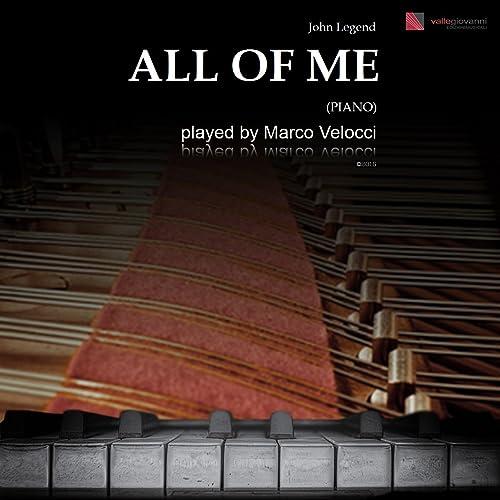 All of Me (E Minor) by Marco Velocci on Amazon Music - Amazon com