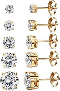 Best big diamond stud earrings Reviews