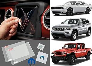 Mopar 82215337 Media Center Screen Protector Chrysler Pacifica Jeep Wrangler Gladiator For 8.4 Screen