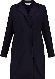 Studio Untold Women's Plus Size Double Breasted Blazer Dress 726264