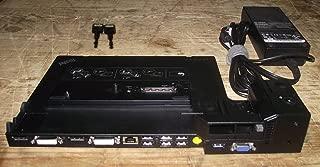 Lenovo ThinkPad Mini Dock Plus 3 433835U with USB 3.0 170W Adapter and Keys
