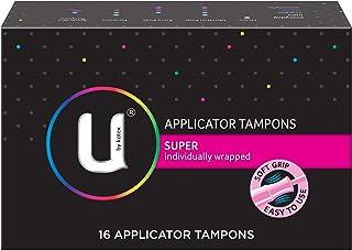 Kotex Super Applicator Feminine Care Tampons, 16ct