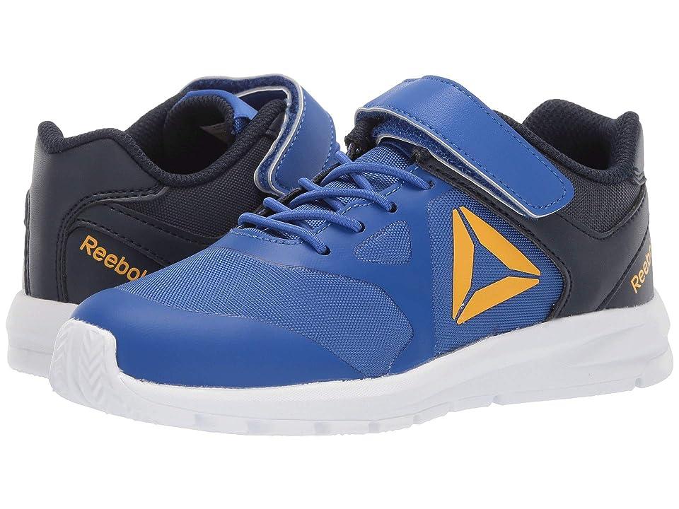 Reebok Kids Rush Runner A/C (Little Kid) (Cobalt/Navy/Gold) Boys Shoes