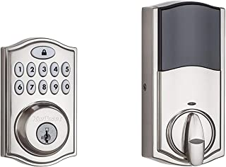yale push button electronic deadbolt with z wave