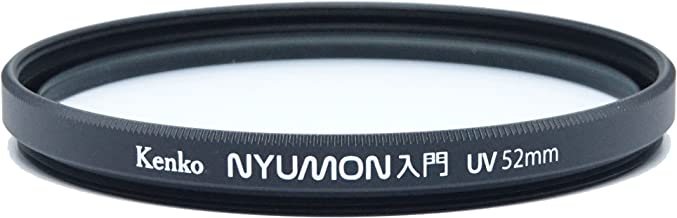 Kenko Nyumon Slim Ring 52mm UV Multi-Coated (MC) Filter, Black, compact (225249)
