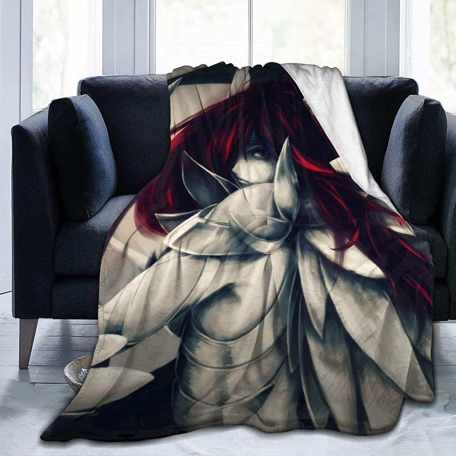 Fairy and Tail 40%OFFの激安セール Anime Dragon Cry Scarlet Rust Throw Erza 出色 Blanket