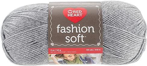 Coats Yarn E845.9440 Fashion Soft, Grey Heather