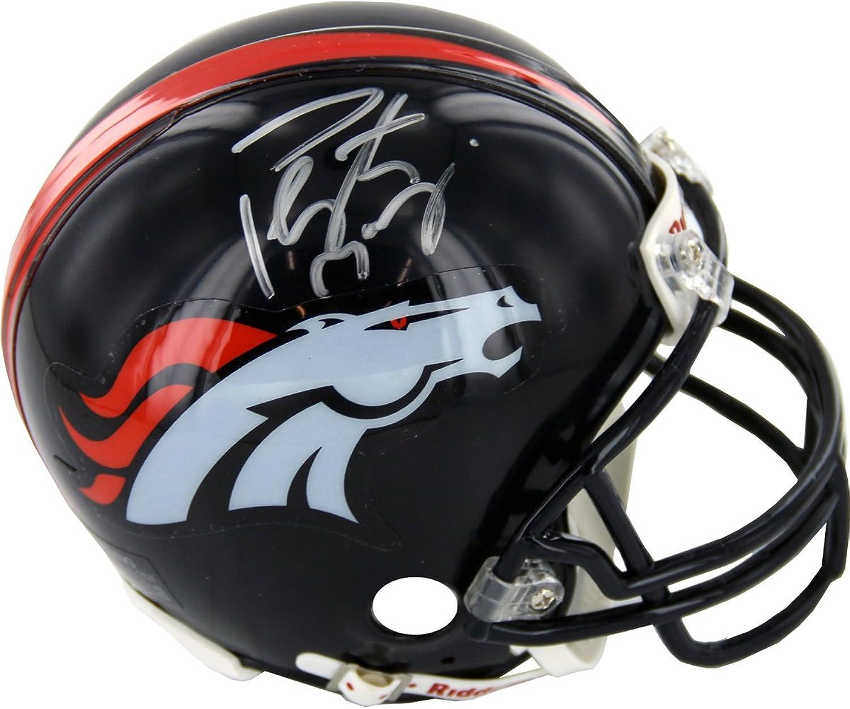 NFL Denver Broncos Memorabilia Peyton Manning Autographed Mini Helmet