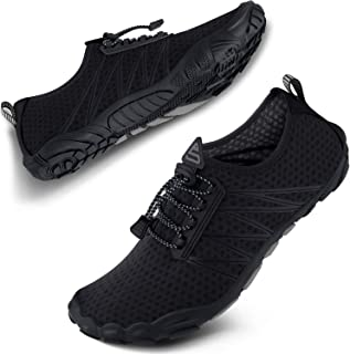 SEEKWAY Mens Womens Water Shoes Quick-Dry Aqua Sock Barefoot Athletic Sports Shoes for Outdoor Beach Swim surf Walking Diving Boating Hiking Pool