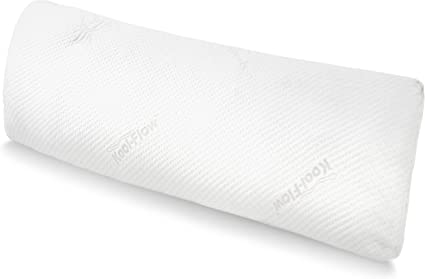 Snuggle-Pedic Full Body Pillow w/ Shredded Memory Foam, Cooling Bamboo  Cover - GreenGuard Gold Certified, Made in USA, Kool-Flow Tech - Fits 20x54  Pillowcase : Home & Kitchen - Amazon.com