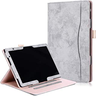 Case for Huawei MediaPad T5 / M5 lite 10 Inch, Ratesell Premium Leather Slim Multiple Viewing Angles Folding Stand Folio C...