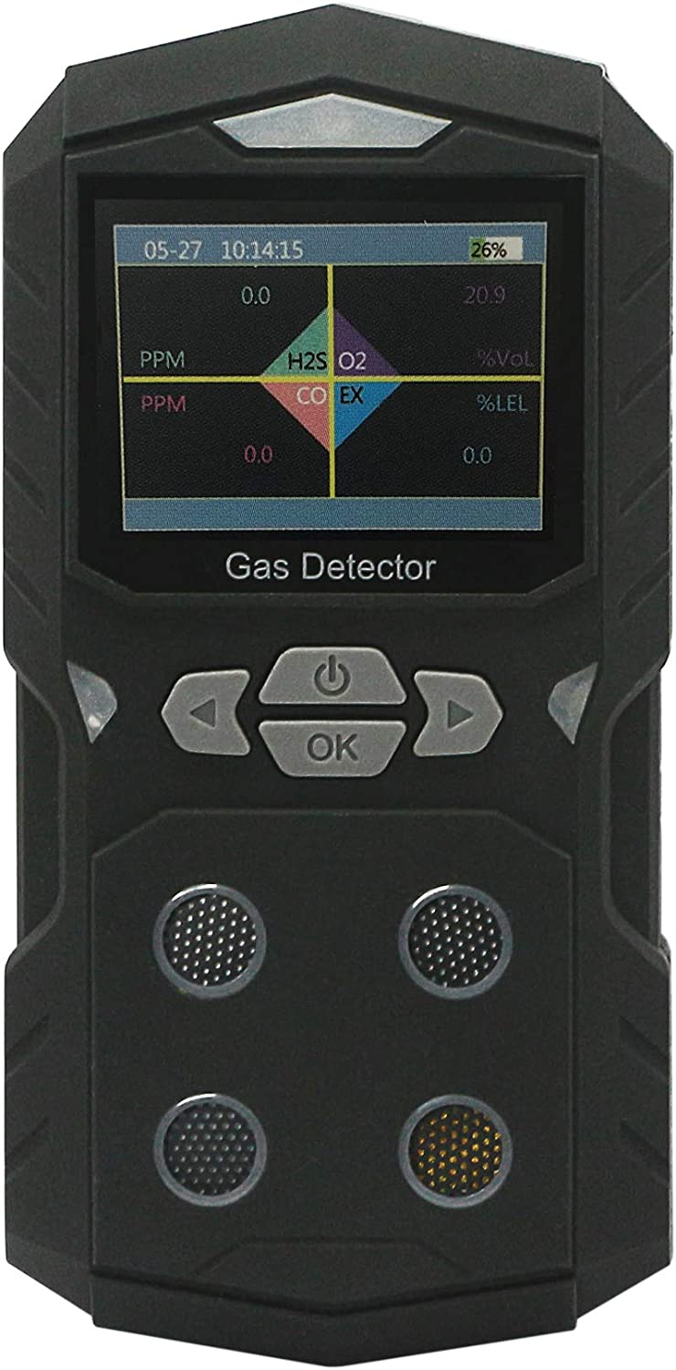 Fashionable CERRXIAN Multifunctional Portable Gas Tes Meter Detector Monitor Sales for sale