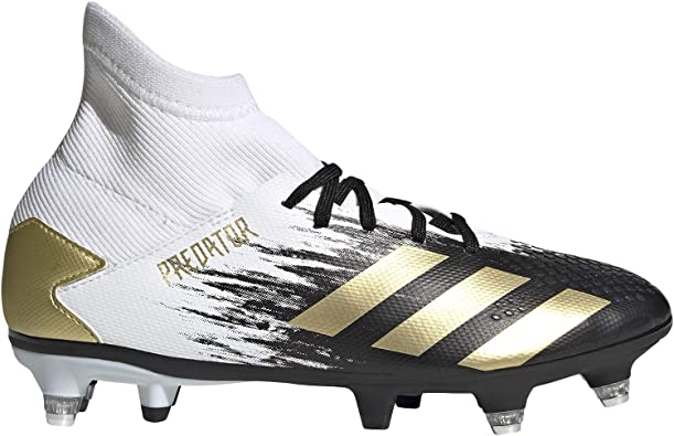 adidas Predator 20.3 SG J, Chaussure de Football Mixte Enfant