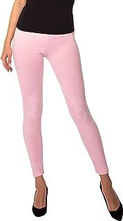 BeComfy Damen Leggings Knöchellang Blickdichte aus Baumwolle Casual Lange Hosen Schwarz Rot Grau Graphit Beige Blau Größe: 36,38,40,42,44,46,48,50,52,54,56